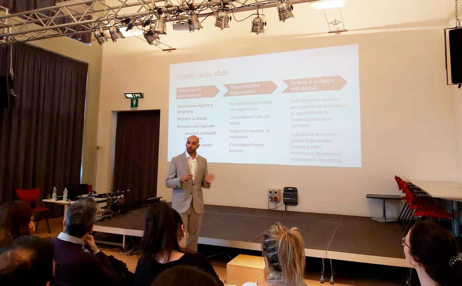 Selezione del personale Digital marketing evento per HR