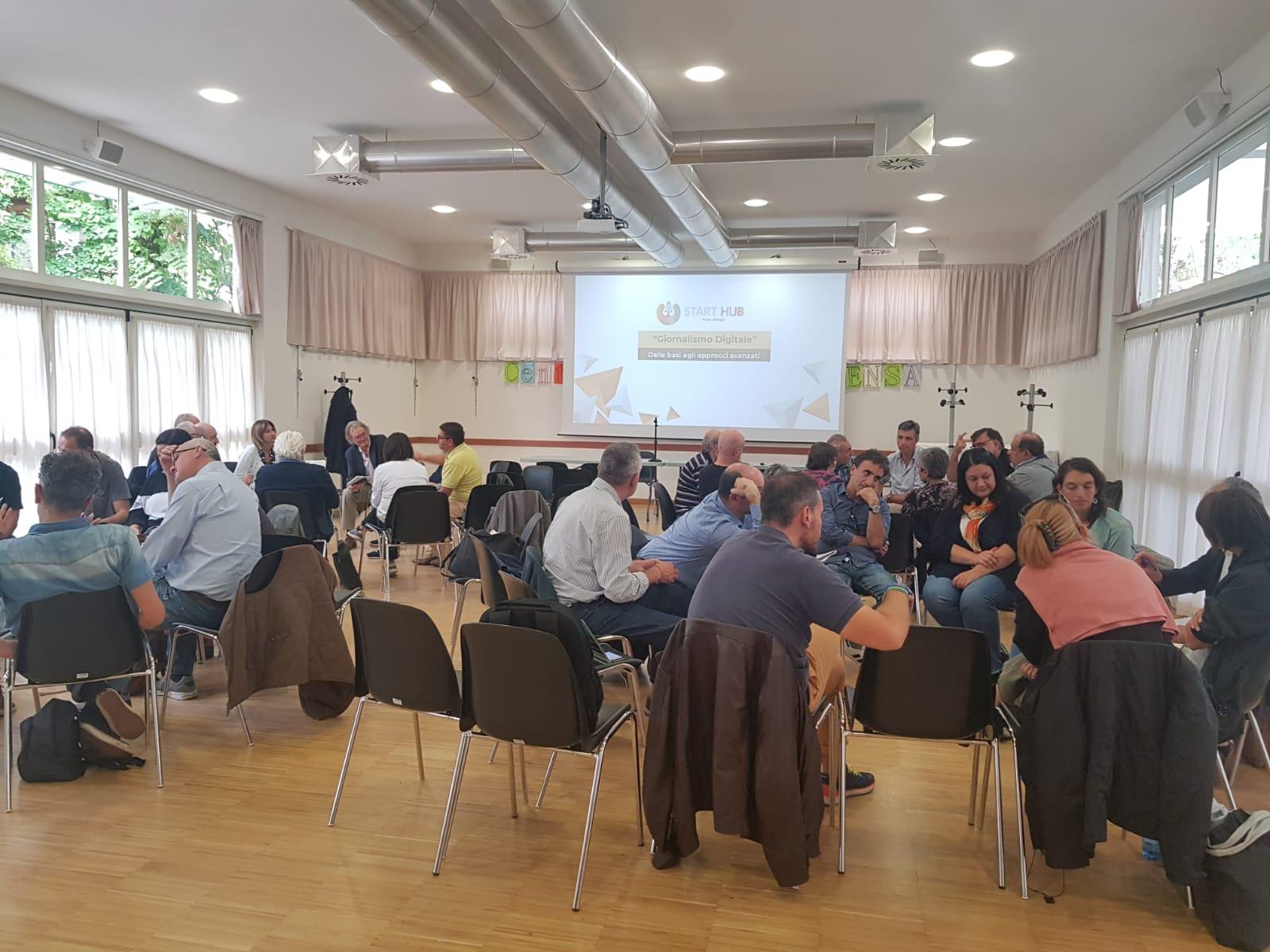 Conferenza creazione nuovo prodotto scelta discussione