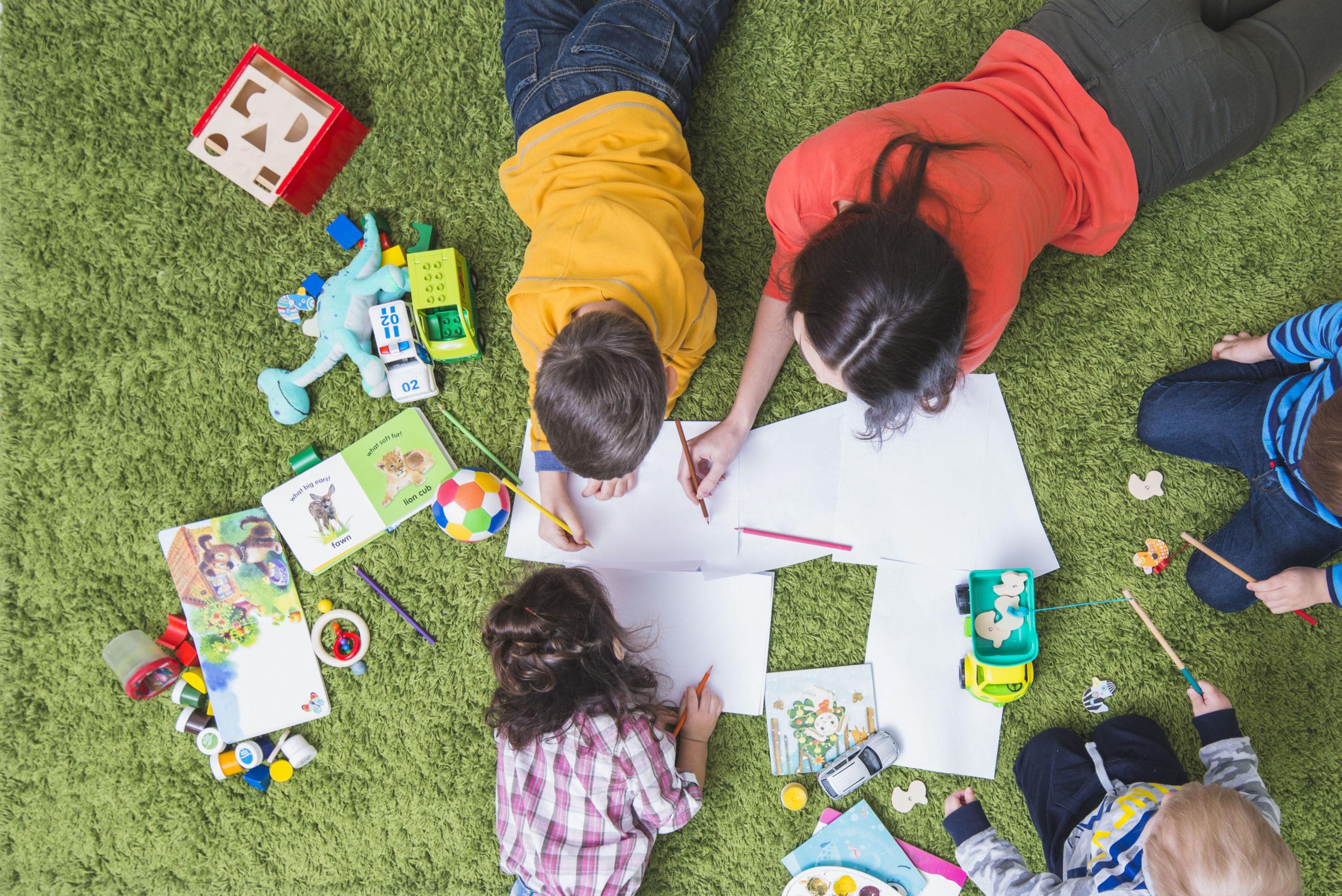 Creare nuovi prodotti per bambini
